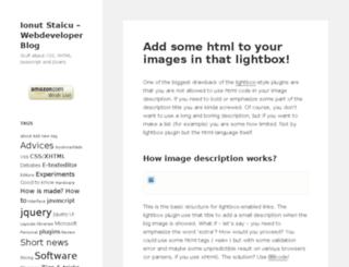 dev.iamntz.com screenshot