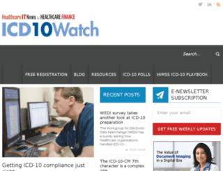 dev.icd10watch.com screenshot