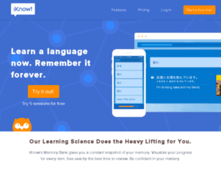 dev.iknow.co.jp screenshot