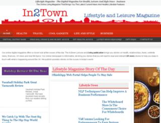 dev.in2town.co.uk screenshot