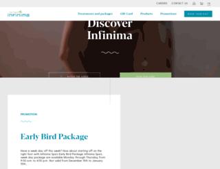 dev.infinima.com screenshot