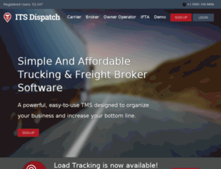 dev.its-dispatch.com screenshot