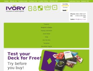 dev.ivorygraphics.co.uk screenshot