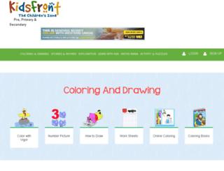 dev.kidsfront.com screenshot