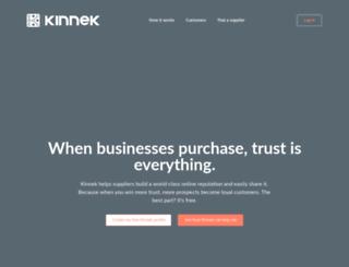dev.kinnek.com screenshot