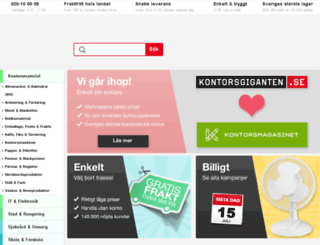 dev.kontorsgiganten.se screenshot