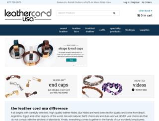 dev.leathercordusa.com screenshot