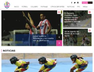 dev.ligapostobon.com.co screenshot