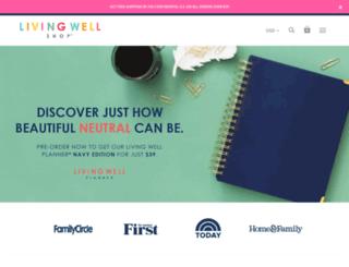 dev.livingwellspendingless.com screenshot