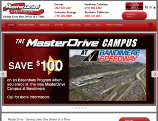 dev.masterdrive.com screenshot