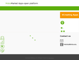 dev.mobomarket.co.id screenshot