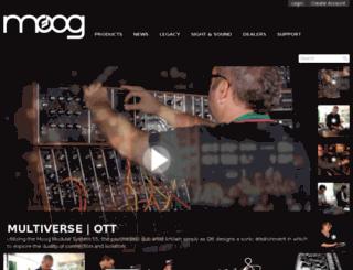 dev.moogmusic.com screenshot