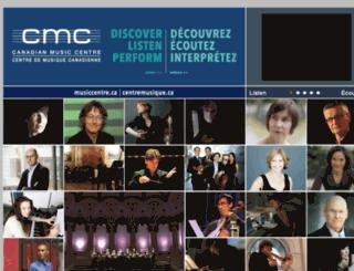 dev.musiccentre.ca screenshot