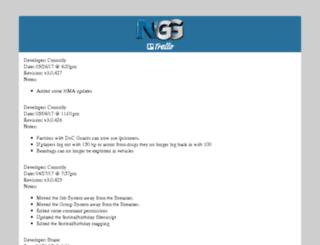 dev.ng-gaming.net screenshot