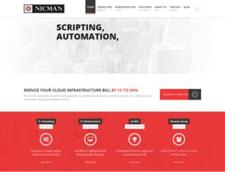dev.nicmangroup.com screenshot