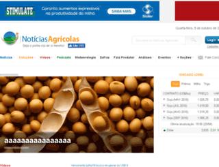 dev.noticiasagricolas.com.br screenshot