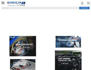 dev.oreca-store.com screenshot