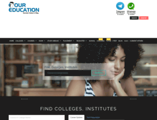 dev.oureducation.in screenshot