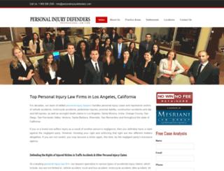 dev.personalinjurydefenders.com screenshot