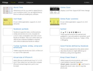 dev.piliapp.com screenshot