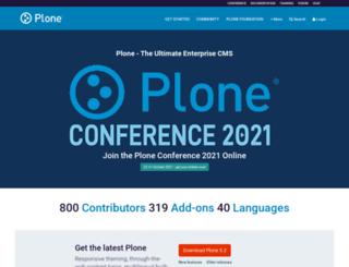 dev.plone.org screenshot