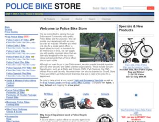 dev.policebikestore.com screenshot