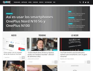 dev.qore.com screenshot
