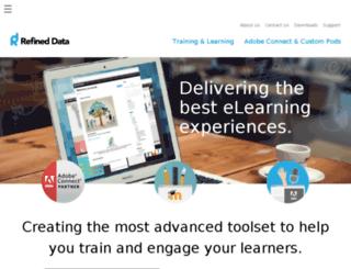 dev.refineddata.com screenshot