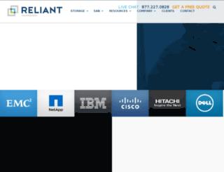 dev.reliant-technology.com screenshot