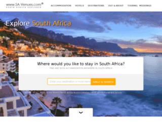 dev.sa-venues.com screenshot