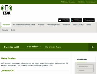 dev.simpleload.de screenshot