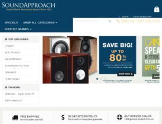 dev.soundapproach.com screenshot