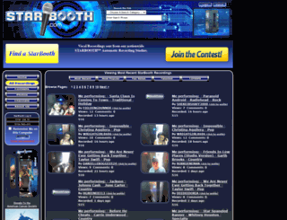 dev.starbooth.com screenshot