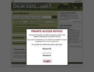 dev.studylight.org screenshot