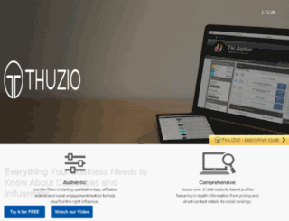 dev.thuzio.com screenshot