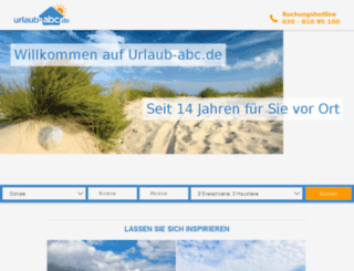 dev.urlaub-abc.de screenshot