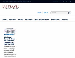 dev.ustravel.org screenshot