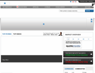 dev.vantagewire.com screenshot