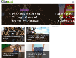 dev.wallstcheatsheet.com screenshot