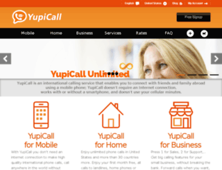 dev.yupicall.com screenshot
