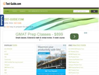 dev1.test-guide.com screenshot