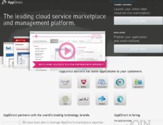 dev11.appdirect.com screenshot