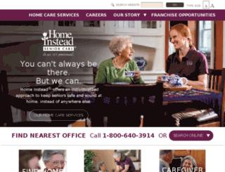 dev13.homeinstead.com screenshot