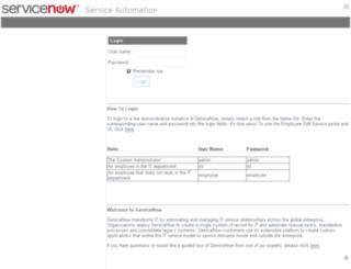 dev166.service-now.com screenshot