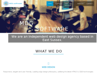 dev18.mdg-software.com screenshot