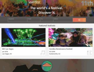 dev2.everfest.com screenshot