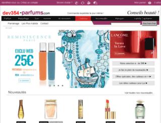 dev354.kalista-parfums.com screenshot