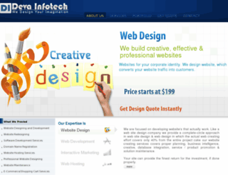 devainfotech.com screenshot