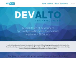 devalto.com screenshot
