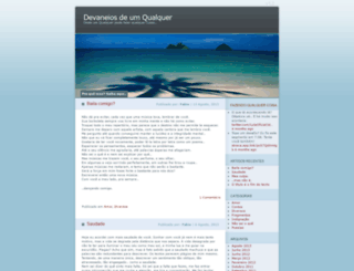 devaneiosdeumqualquer.wordpress.com screenshot